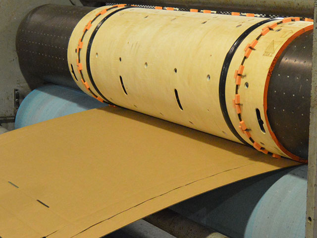 in-house testing of corrugated cutting die
