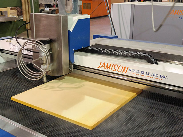 waterjet cutting machine